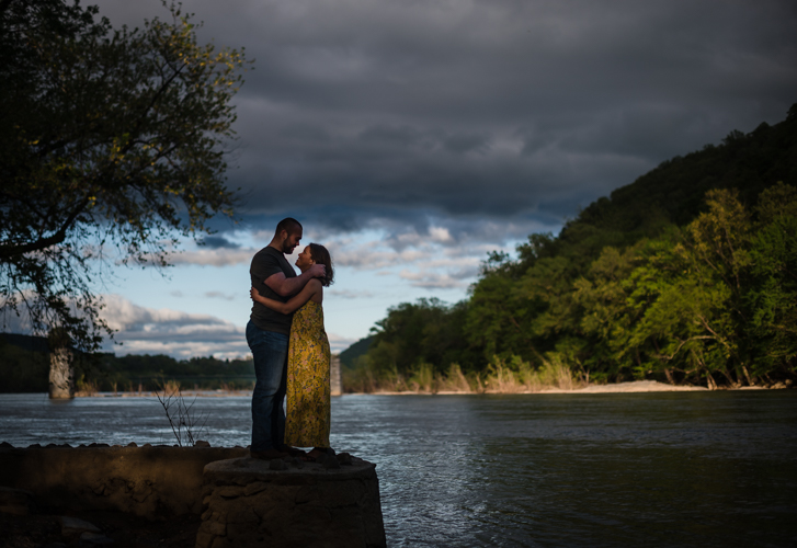 harpers ferry engagement photos