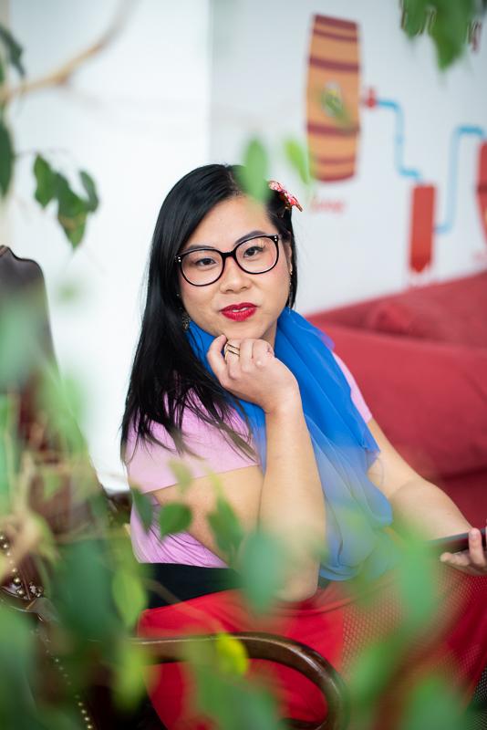 Hipster Mulan Cosplay