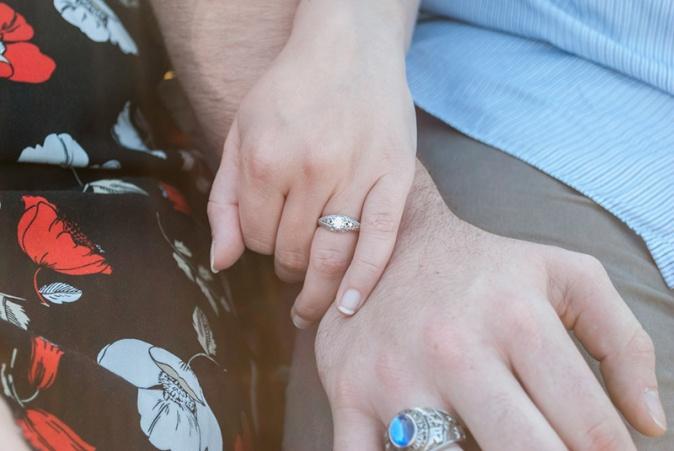 Virginia Beach Engagement Ring Photography